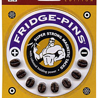 Fridge-Pins - Coffee Bean Edition