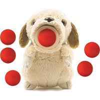 Squeeze Popper Huggable Dog