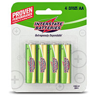 Interstate AA Batteries - 4 Pack