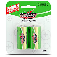 Interstate C Batteries - 2 Pack