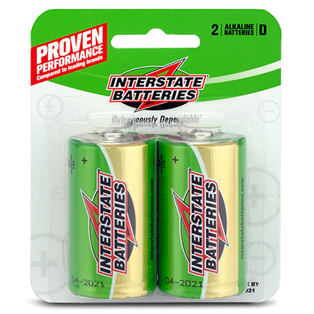 Interstate D Batteries - 2 Pack