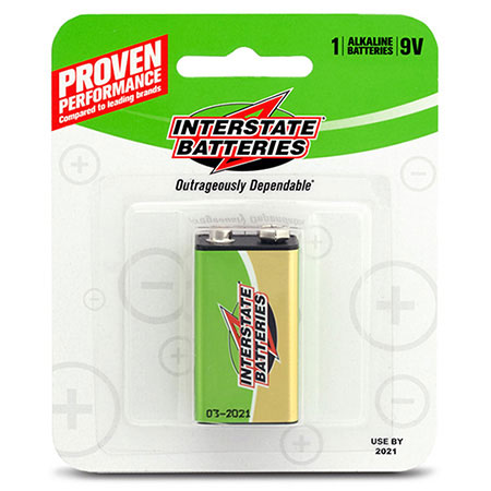 Interstate 9V Battery