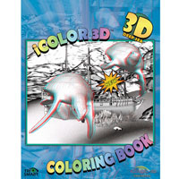 3D Deep Sea Coloring Book