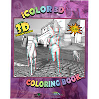 3D Castle Coloring Book