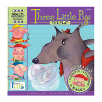 Now I'm Reading Plays - The Three Little Pigs - Level 1