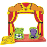 Puppet Theater Set