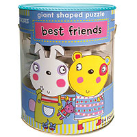 Soft Shapes Giant Shaped Puzzle - Best Friends