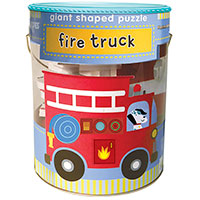 Soft Shapes Giant Shaped Puzzle - Fire Truck