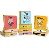 Green Start Book Tower - Little Color Books