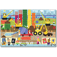 Green Start Giant Floor Puzzle - Big Builder