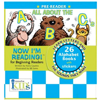 Now I'm Reading! Books - All About The ABCs