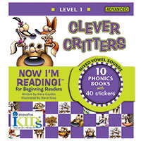 Now I'm Reading! Books - Clever Critters