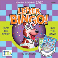 Now I'm Reading! Games - Letter Bingo!