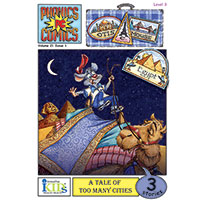 Phonics Comics - Otis C. Mouse-Egypt