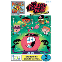 Phonics Comics - The Fearless Four: Braced For Battle