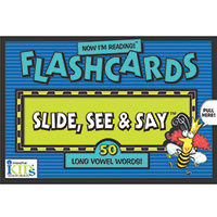 Now I'm Reading! Flashcards - Long Vowel Words!