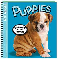 Soft Shapes Photo Book - Puppies