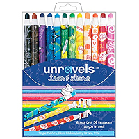 Jokes & Riddles Quote Unravels Crayons - 12 pk
