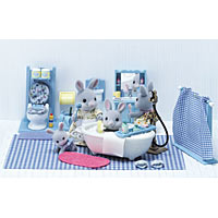 Calico Critters - Bathroom Set & Assessories