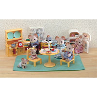 Calico Critters - Kitchen Set & Assessories