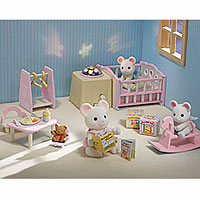 Calico Critters - Nightlight Nursery Set