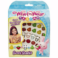 Whirl N Wear Charms - Sweet Snacks