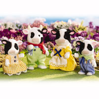 Calico Critters - Friesian Cow