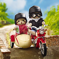 Calico Critters - Motorcycle & Sidecar