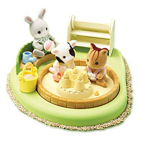 Calico Critters - Baby Pool and Sandbox
