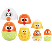 Earlyears Chicken & Egg Stacking Cups