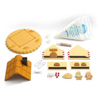 Whipple Gingerbread Treat House