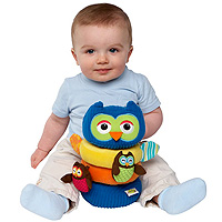 Earlyears Hoot 'n Rattle Stacker