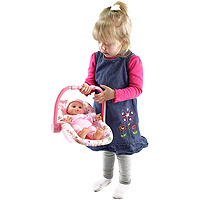 Kidoozie Cozy Cutie On The Go Baby - 12 inch