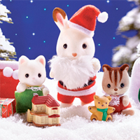 Calico Critters Merry Christmas Pack