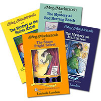 Meg Mackintosh Mysteries Set of 4 - Series 2