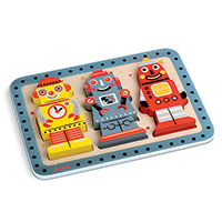 Robots Chunky Puzzle