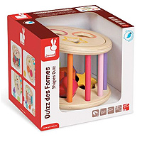 I Wood Shape Sorter Quiz