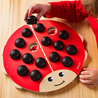 Lady Bug Memory Game