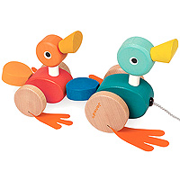 Duck Family Pull Along Toy