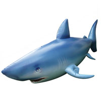 LIFELIKE! Inflatable Shark