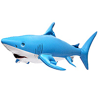Inflatable Shark 24 inch