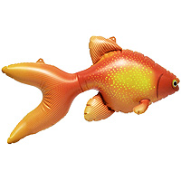 Inflatable Goldfish 20 inch
