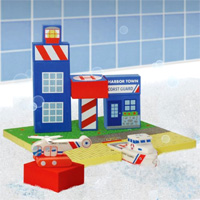 WaterBlocks 20 pc Coast Guard Set in Reusable Storage Bag