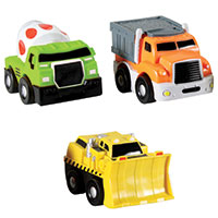 GoGo City 3 Pack Construction