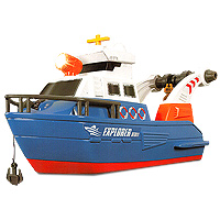 World of Wheels Lights & Sound Explorer Boat