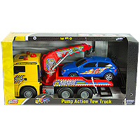 World of Wheels Pump Action Tow Truck
