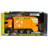 World of Wheels Pump Action Garbage Truck