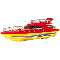 Wave Breakers Cabin Cruiser - Red
