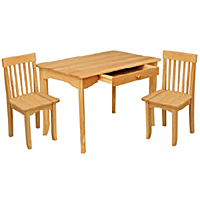 KidKraft Avalon Table and Chairs Set - Natural