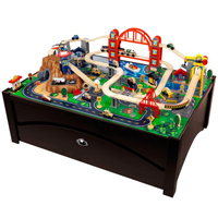 Metropolis Train Table and Set